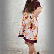 kitokia suknele
